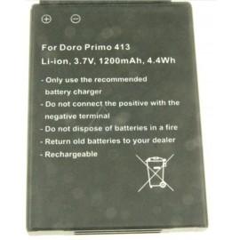 Doro Primo 413 tegemist on kvaliteetse analoog akuga RCB413406 1200mAh