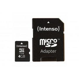 MEMORY MICRO SDHC 4GB C10/W/ADAPTER 3413450 INTENSO