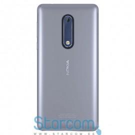 Silikoonist tagakaas / ümbris Nokia 5 GELSKIN , Läbipaistev