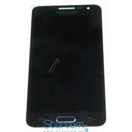Puutetundlik klaas ja LCD ekraan Samsung Galaxy A3 (SM-A300), Must GH97-16747B