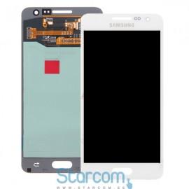 Puutetundlik klaas ja LCD ekraan SAMSUNG GALAXY A3 2016 (SM-A310), valge