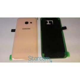 Samsung A3 2017 (SM-A320) tagapaneel (akukaas) roosa virsiku