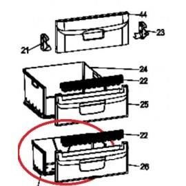 Alumine sügavkülma kambri sahtel C00303579 Indesit BIAA10PX ja teistele mudelitele