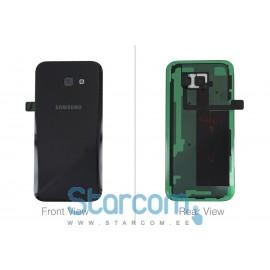 Samsung A5 2017 (SM-A520) tagapaneel (akukaas) must