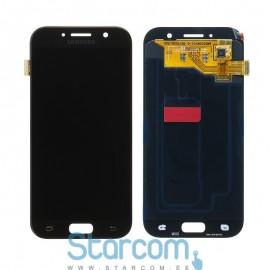 Puutetundlik klaas ja LCD ekraan SAMSUNG GALAXY A5 2017 (SM-A520), must