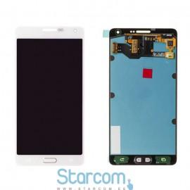 Puutetundlik klaas ja LCD ekraan SAMSUNG GALAXY GALAXY A7 (SM-A700), valge