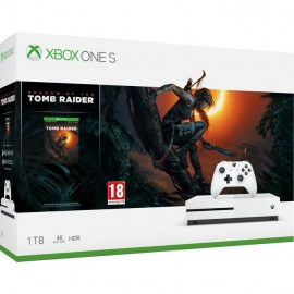 CONSOLE XBOX ONE S 1TB WHITE/GAME S.O.TOMB RAIDER MICROSOFT