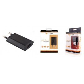 charger USB 1A by Forever black