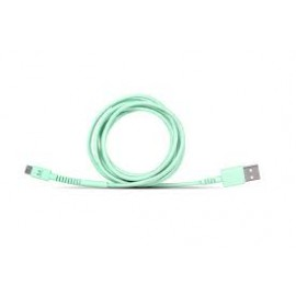 Micro USB Cable By Fresh'N Rebel Peppermint