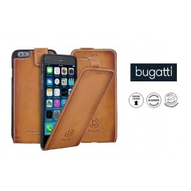 Apple iPhone 6/6S/6S flip cover AMSTERD by Bugatti v.cognac