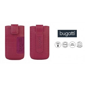 CROCO case universal M by Bugatti pink