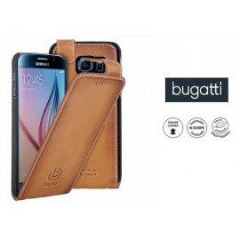 Samsung Galaxy S6 cover flip AMSTERD by Bugatti v.cognac