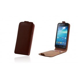 Samsung Galaxy Ace 4 cover PLUS by Forever brown