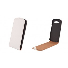 Samsung Galaxy Core cover ELEGANCE by Forever white