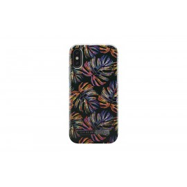 Apple iPhone X Cover Neon Tropical By Ideal Fashion Black
