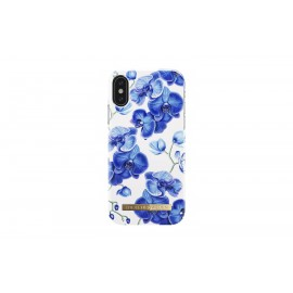 Apple iPhone X Cover Baby Blue Orchid By Ideal Fashion Blue