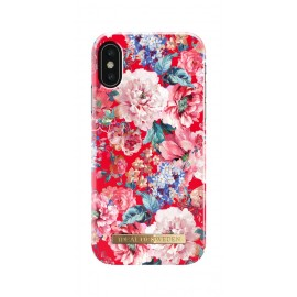 Apple iPhone X Cover Statement Florals By Ideal Fashion Red