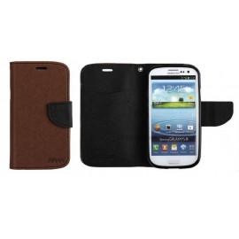 Samsung Galaxy S4 cover FANCY by Mercury brown/black