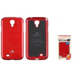 Sam Galaxy S4 cover JELLY by Mercury red