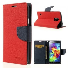 Sam Galaxy S5 cover FANCY by Mercury red/navy