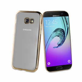 Samsung Galaxy A5(2017) cover Coque Blindg by Muvit Gold
