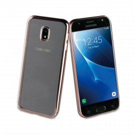 Samsung Galaxy J3(2017) cover Bling By Muvit Titanium