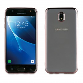 Samsung Galaxy J7(2017) cover Bling By Muvit Titanium