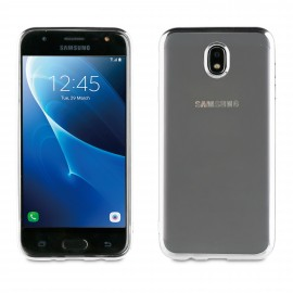 Samsung Galaxy J7(2017) cover Bling By Muvit Silver