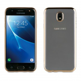 Samsung Galaxy J7(2017) cover Bling By Muvit Gold