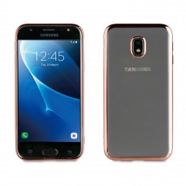 Samsung Galaxy J7(2017) cover Bling By Muvit Pink Gold