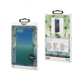 Apple iPhone 7 cover Coque Vegas by Muvit Blue-Green