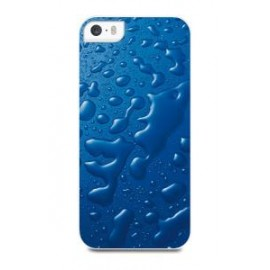 Apple iPhone 5/5S/SE cover Water by Muvit Blue