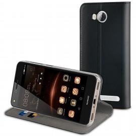 Huawei Y3 II cover Folio by Muvit Black