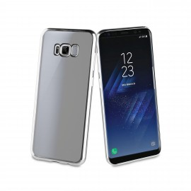 Samsung Galaxy S8 cover Coque Blindg by Muvit Silver