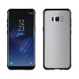 Samsung Galaxy S8 cover Crystal Bump By Muvit Black