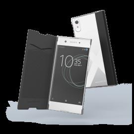 Sony Xperia XA1 Folio case By Muvit Black