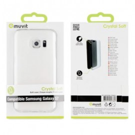 Samsung Galaxy S7 cover Crystal by Muvit Transparent