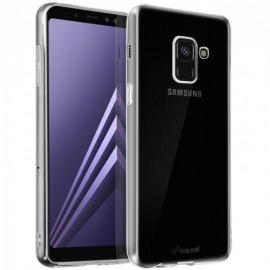 Samsung Galaxy A8 (2018) Crystal Soft Cover By Muvit Transparent