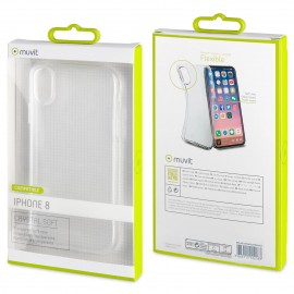Apple iPhone X Crystal Soft Cover Transparent
