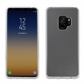 Samsung Galaxy S9 Plus Crystal Soft Cover By Muvit Transparent