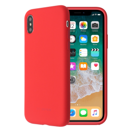 Apple iPhone X Smoothie Silicone Cover By So Seven Red