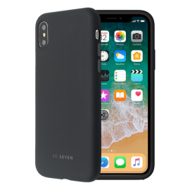 Apple iPhone X Smoothie Silicone Cover By So Seven Black