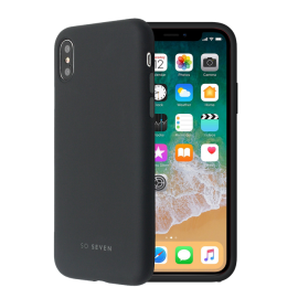 Apple iPhone 7/7S/8 Smoothie Silicone Cover By So Seven Black