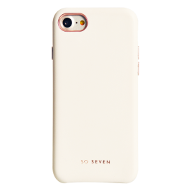 Apple iPhone 7/7S/8 Premium Colors Cover By So Seven White