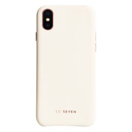 Apple iPhone X Premium Colors Cover By So Seven White