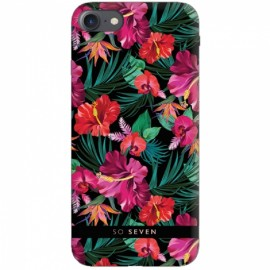 Apple iPhone 6/6S/7/8 Hawai Cover Tropical By So Seven Black