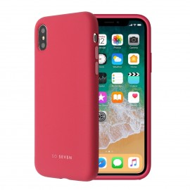 Apple iPhone X Smoothie Silicone Cover By So Seven Bordo