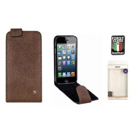 Apple iPhone 5/5S/SE cover GRAVEL by Sox brown