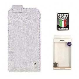 Sam Galaxy S4 cover GRAVEL by Sox white