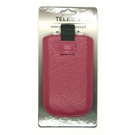 (15-L) MAGNET case universal 5570 by Visin dark pink